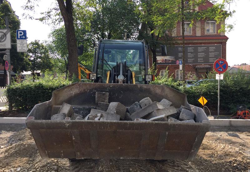 Baubeginn Mobilitätsstationen in City2Share