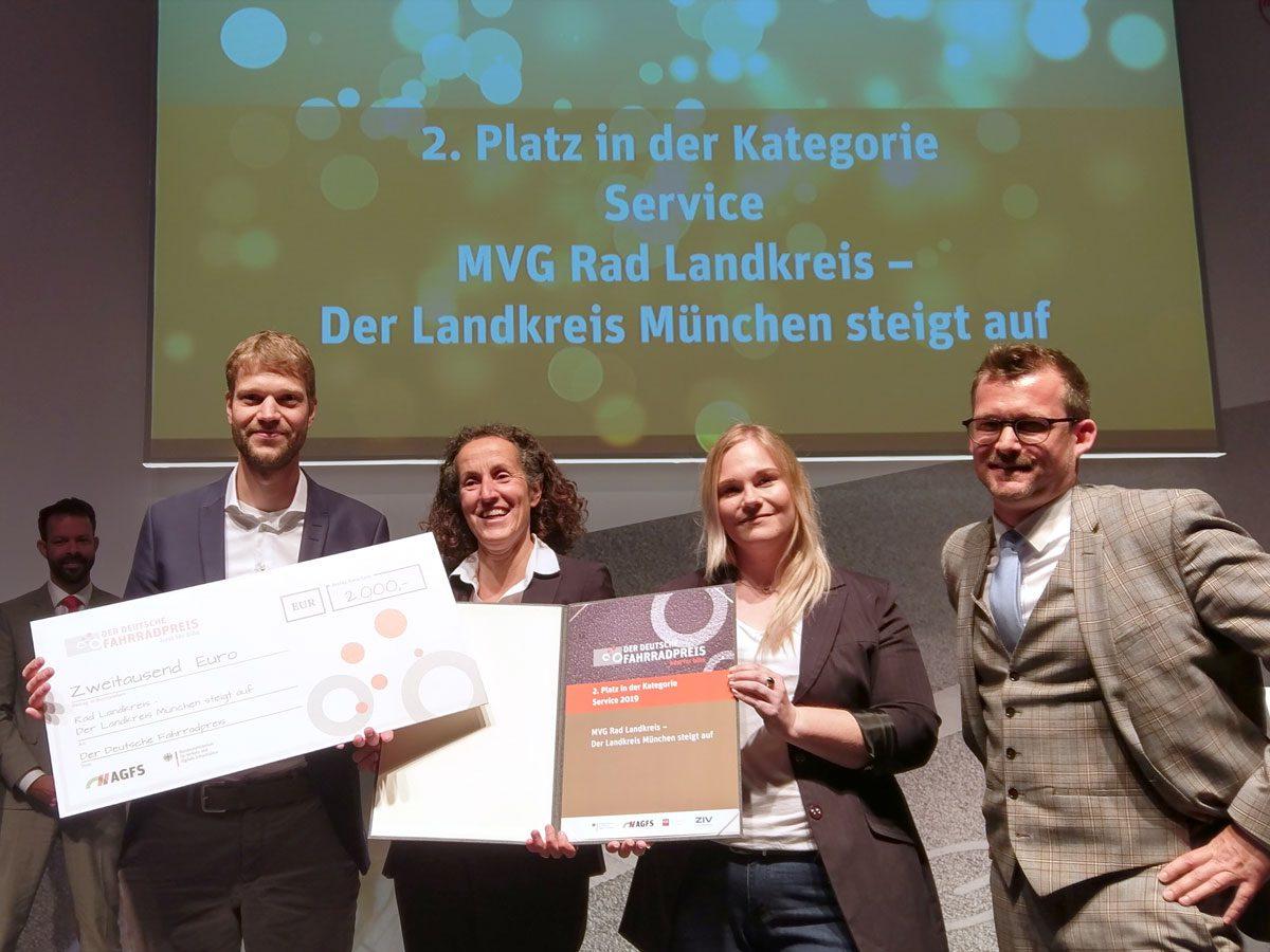 MVG Rad im Landkreis erhält Auszeichnung
