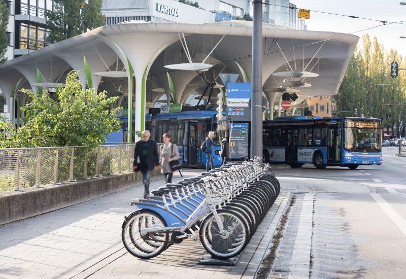 Mobilitätsstation Münchner Freiheit