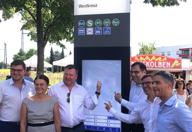 Eröffnung Mobilitätsstationen in Smarter Together