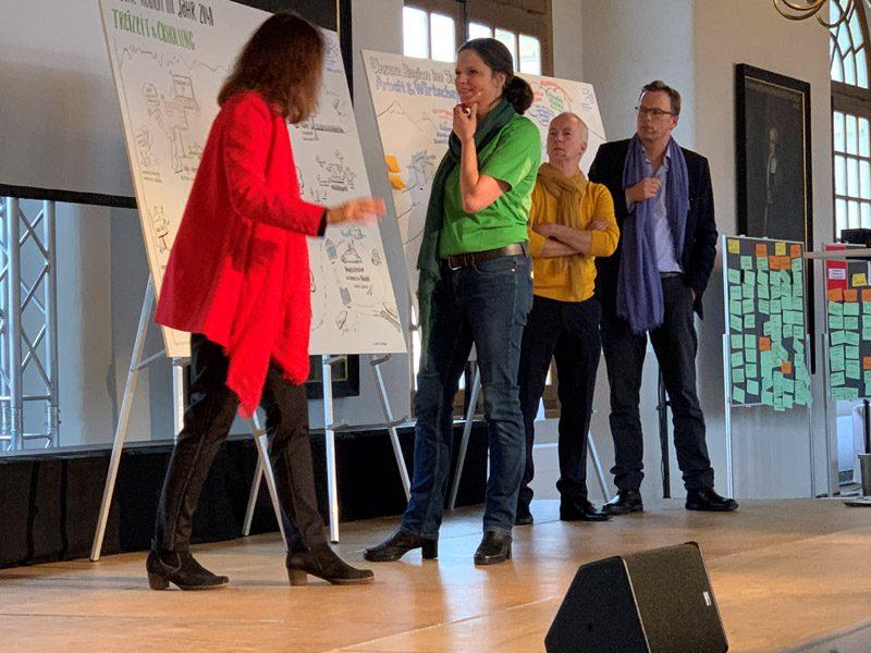Regionale Wohnungsbaukonferenz und IBA Unterwegs 2030