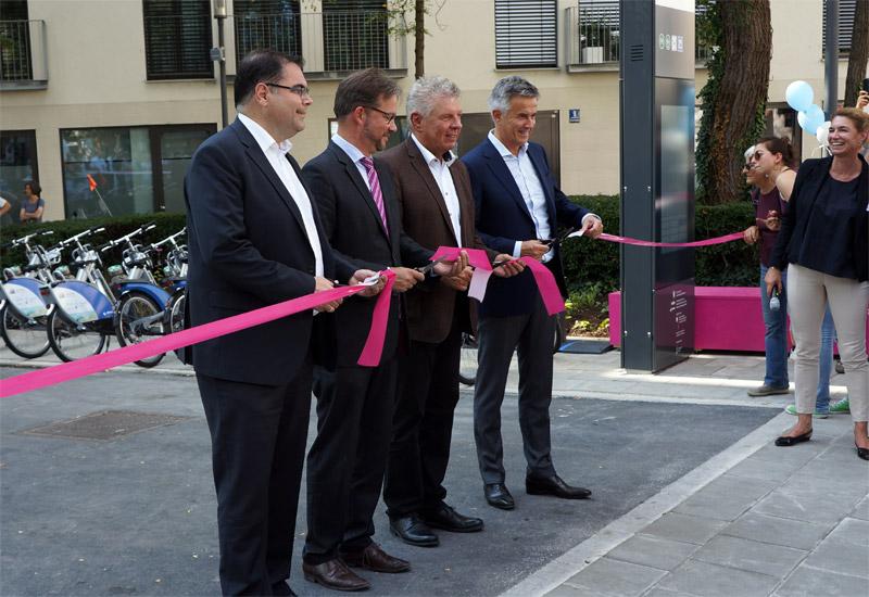 Eröffnung der Mobilitätsstationen am Zenetti- und Kidlerplatz